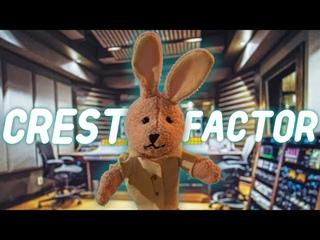 Что такое Crest Factor? Сведение баса и кика