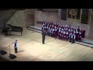 Большой детский хор имени В.С.Попова Художественный руководитель и дирижер -- Анатолий Кисляков