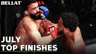 TOP Fight Finishes - July | Bellator MMA