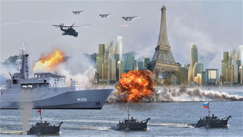 За сколько часов Армия России захватит всю Европу