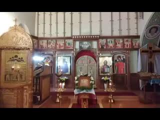 Божественная литургия в праздник ВВЕДЕНИЯ ВО ХРАМ ПРЕСВЯТОЙ БОГОРОДИЦЫ.