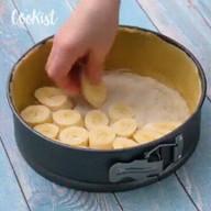 id_56757 Банановый чизкейк 🍰🍌  Автор: Cookist  #gif@bon