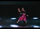 Хастл. Маргарита П., Александр Т. Отчетный концерт Школы танцев Dance Life в Курске