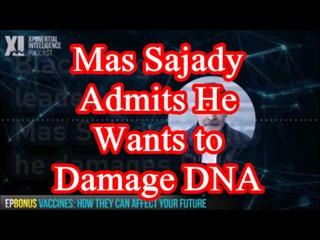 Mas Sajady Admits He Wants to Damage DNA | Black Magic Cult Leader