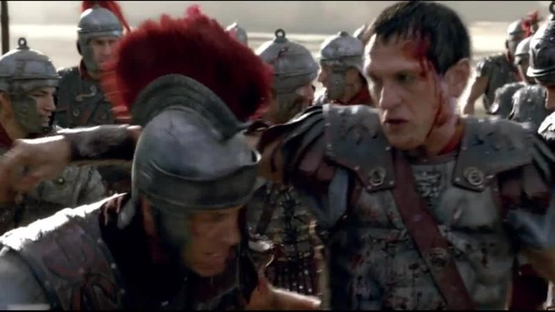 Спартак Война проклятых Генеральное сражение Гибель Саксы