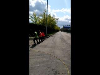 Протяжка кабеля