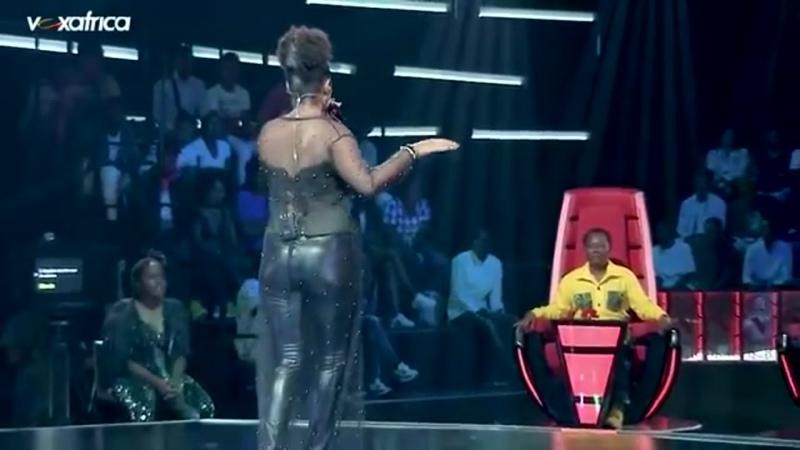 Шоу Голос Франкоязычная Африка 2020 Матильда с песней Привет The Voice Afrique Francophone Mathilde Hello