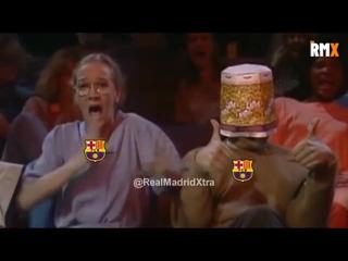 Фанаты Барселоны когда видят Мбаппе
