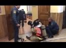 Тренировка пожарных в Питере