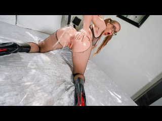 Scarlet Chase - Fuck My Oily Asshole [PornCube ПОРНО ВК new Porn vk HD 1080 Anal, Big Tits Oil Squirt Stockings