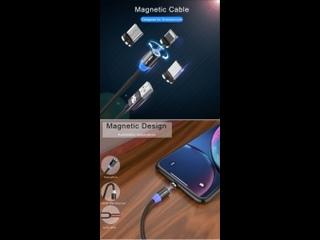 KEYSION светодиодный магнитный usb-кабель
