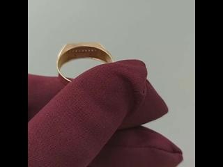 Мужское кольцо 585 пробы