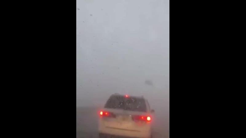 Попали под торнадо на мосту близ Тампы Флорида США 16 12 2020