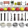 Производим и продаём: урна бетонная, скамейка ул