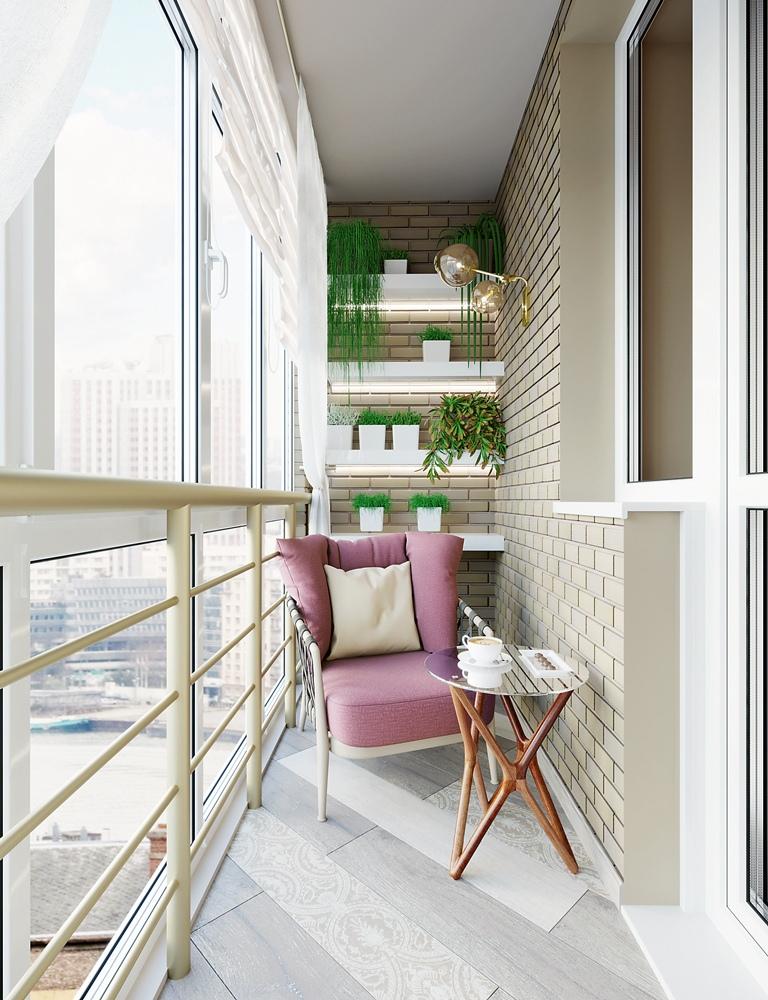 Проект квартиры 44 м.