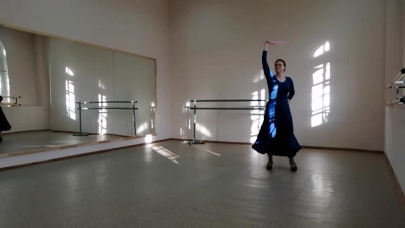 Испанский танец балетная студия Дилором Ахмедовой
