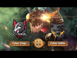 Cyber Dogs vs Cyber Sable