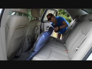 Надувной матрас для машины на заднее сиденье