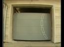 Установка гаражных секционных ворот Hormann
