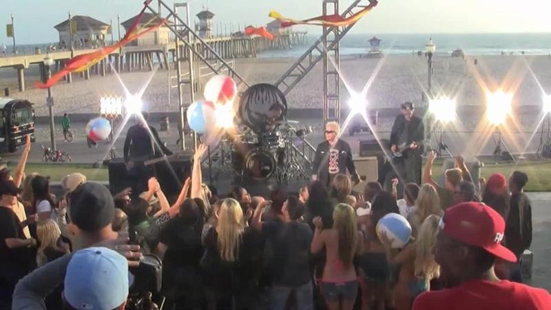 The Offspring Cruising California Bumpin In My Trunk Video Huntington Beach CA 2012