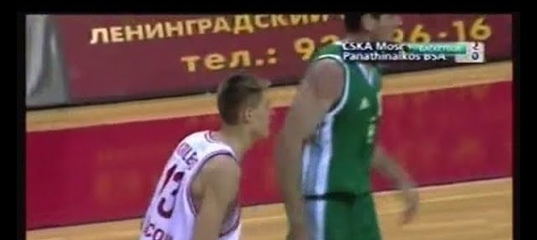 2000 CSKA Moscow - Panathinaikos (Greece) 69-57 Men Basketball SuproLeague, group stage, full match
