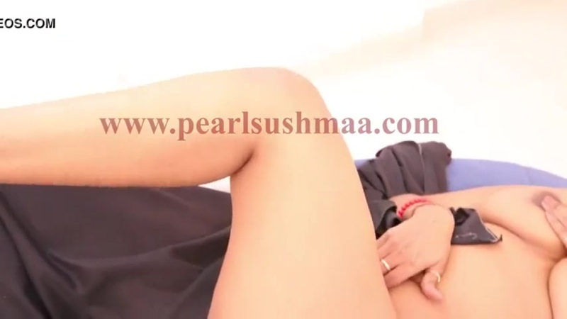Pearl Sushma bedsheet shoot nipple slip
