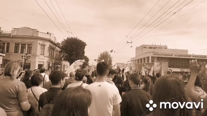 Торжественное шествие 1 Мая 2019 Крымский медицинский колледж