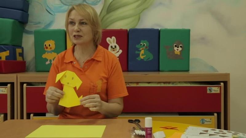 Оригами - одомашнивание бумажных собак