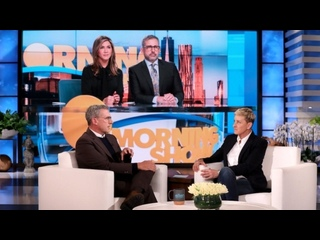 Can Ellen Convince Steve Carell to Join Instagram