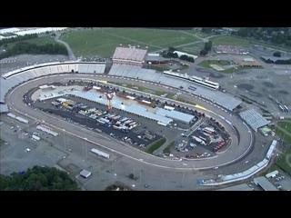 Chopper camera - Richmond - Round 28 - 2020 NASCAR Cup Series