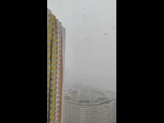Весенний снегопад ЖК ART