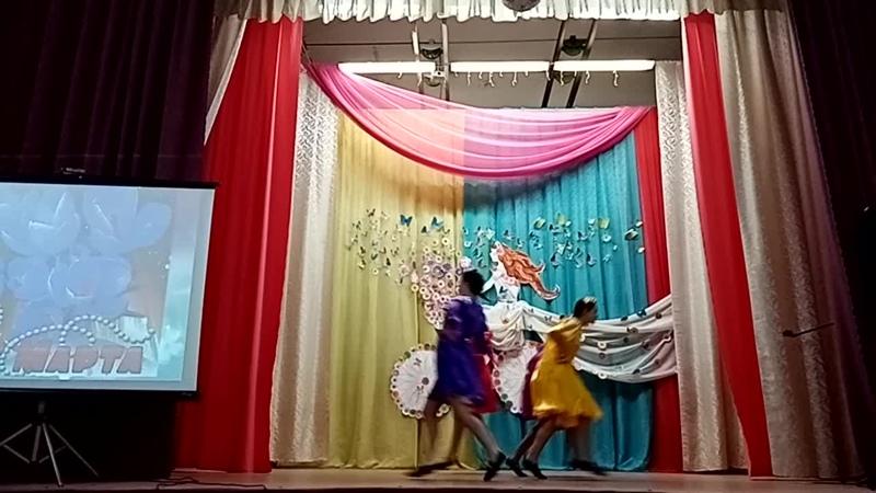 танц анс Амели Московская кадриль