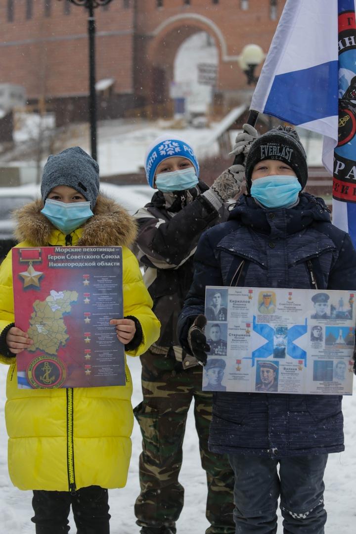 День морской пехоты отметили в Нижнем Новгороде, изображение №8