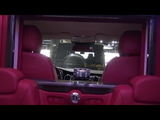 Ultra Luxurious Custom Mercedes Van!