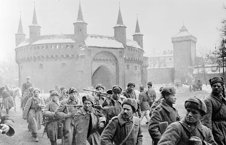 В этот день 76 лет назад, 8 февраля 1945 года, Красная Армия заняла более 40 городов и сёл около Кракова