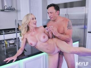 Brandi Love - Morning Tea - Porno, All Sex, Milf, Blonde, Big Tits, Juicy Ass, Swallow, Rimjob, Hardcore, Gonzo, Porn, Порно