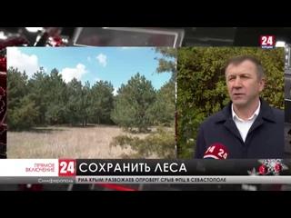 В Крыму проходит акция Сохраним лес
