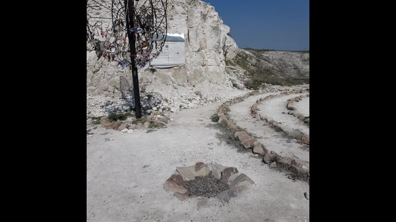 Место силы лабиринт Любви и Верности