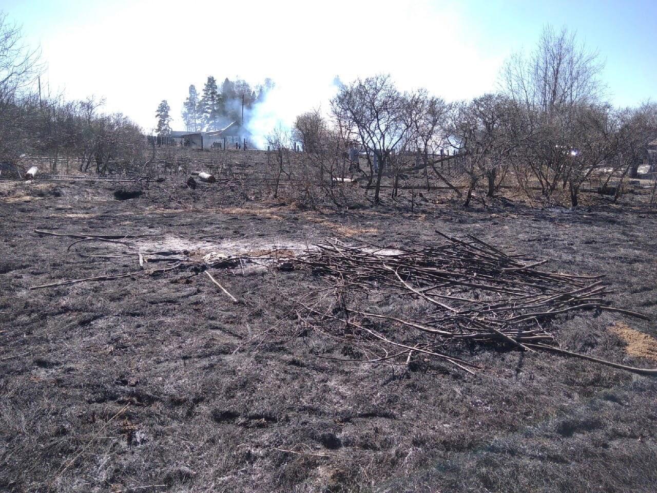 Два пожара за день произошло в Можгинском