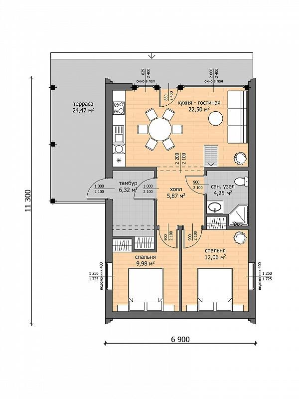Проект частного дома: как сделать и где заказать?, изображение №6