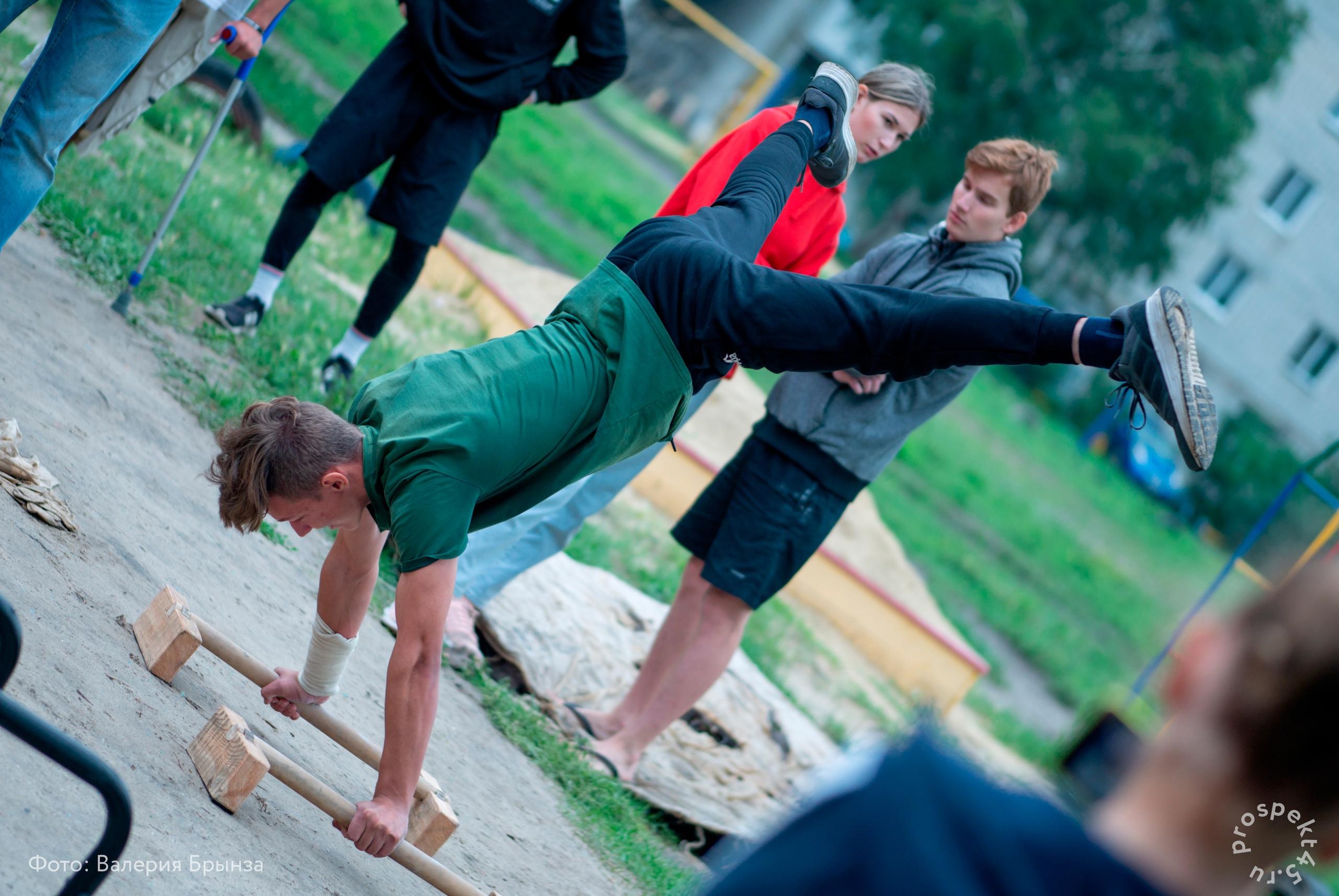 При поддержке Департамента образования и науки состоялся  отборочный турнир национального чемпионата по дисциплинам воздушно-силовой атлетики и воркаута