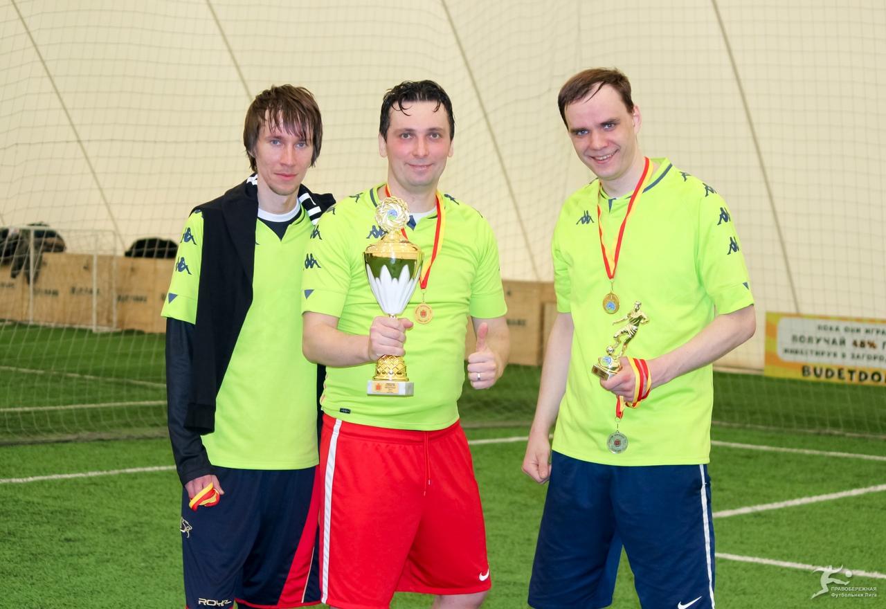 Дмитрий Никитин, Олег Северьянов и Александр Миропольский (812) - победители дивизиона Пучкова.