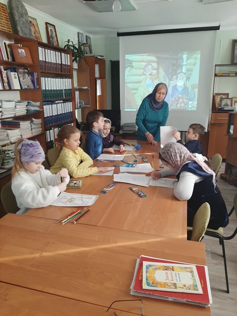 На занятиях у Надежды Борисовны