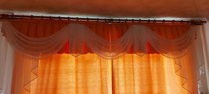 Ламбрикен+шторы+тюль 3м на | Объявления Орска и Новотроицка №28774