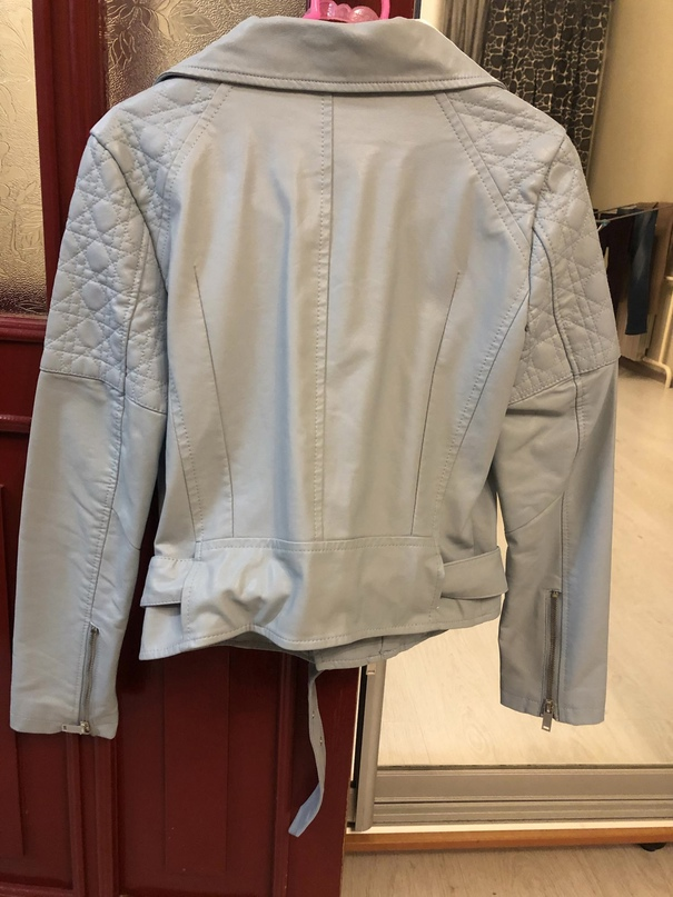 Классная куртка нежно голубого цвета.. | Объявления Орска и Новотроицка №20961