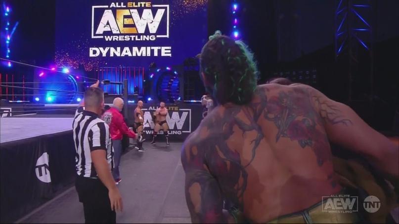 AEW Dynamite и WWE NXT 09.12.20, изображение №3