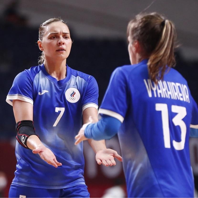 Дарья Дмитриева и Анна Вяхирева