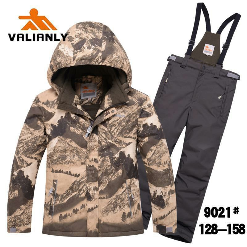 Зимний комплект Valianly 9021 горы хаки