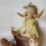 Бабка-Ёшка с узелком-текстильная кукла (МК)