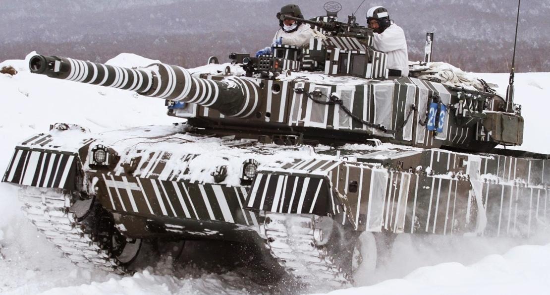 Немецкие танки в Японии